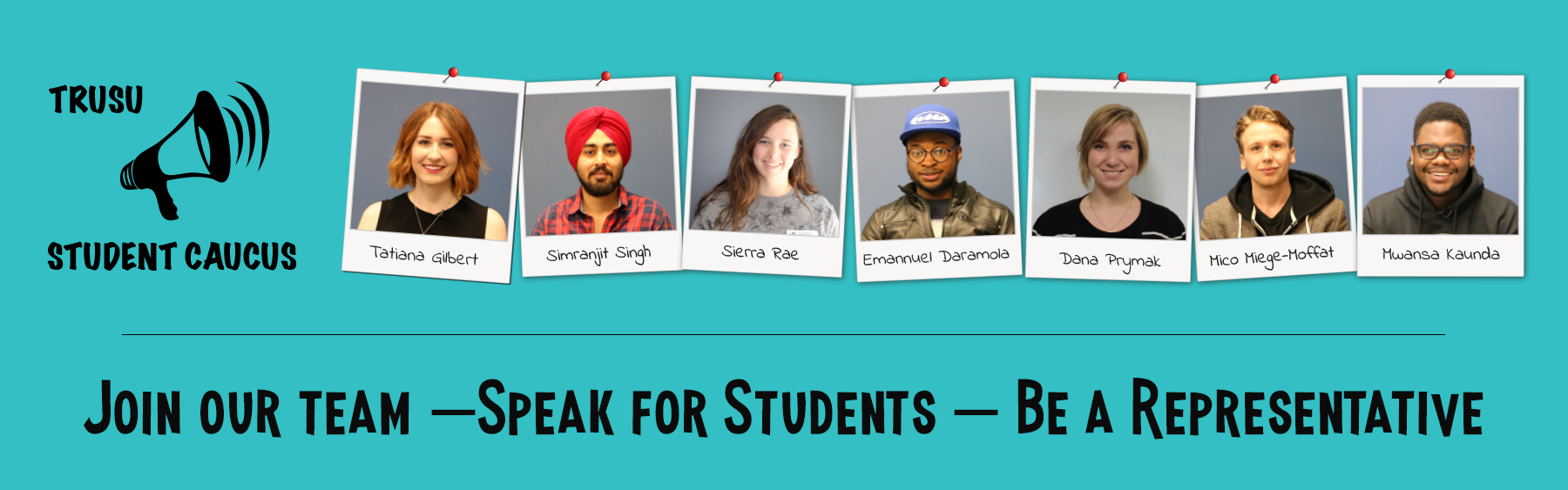 Join the Student Caucus