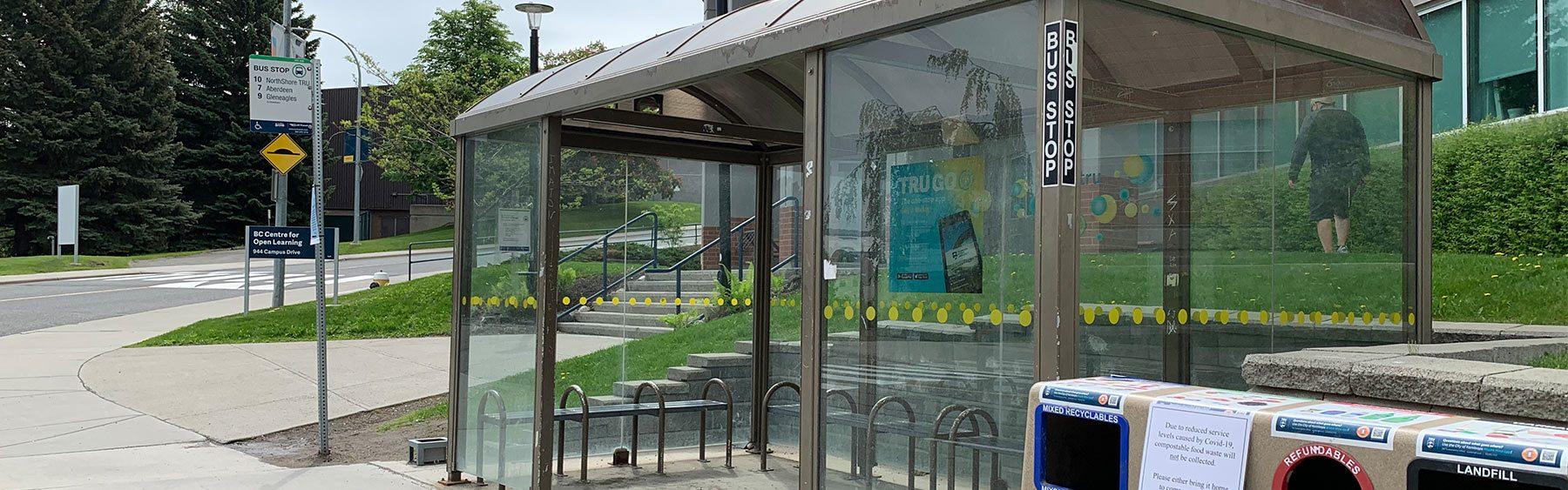 TRU Bus Stop